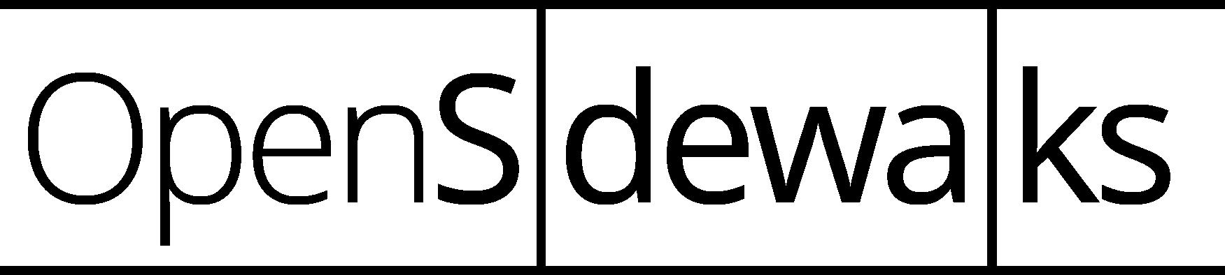 OpenSidewalks logo